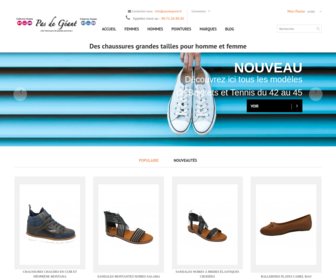 Chaussures grande pointure femmes   La liste des boutiques ... f074dfb291d