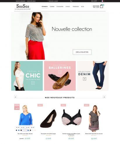 398d1863df93 Kiabi lance SõaSõa, un e-shop dédié à la mode grande taille du 46 au ...