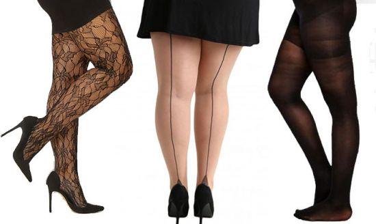 collants grande taille color s de quoi habiller les jambes avec fantaisie vivelesrondes. Black Bedroom Furniture Sets. Home Design Ideas