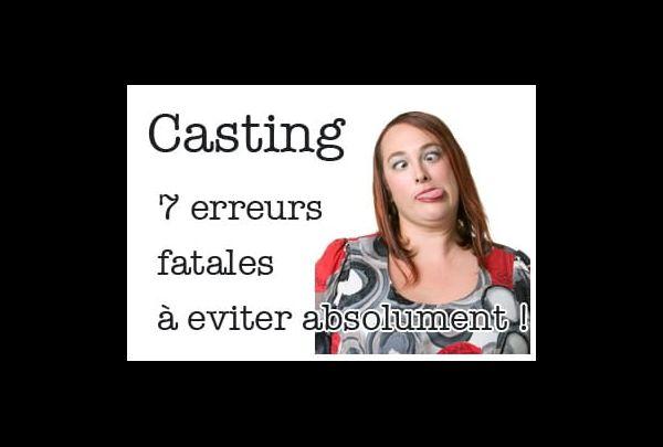 envoyer photo pour casting