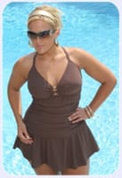 Always for me - Maillot de bain grande taille - Style Swim Mini Skirt - Sizes 16W-26W