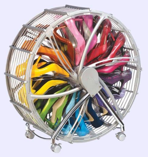 La roue à chaussures - Rakku shoe wheel