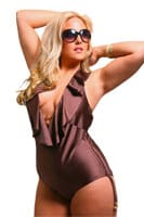 Trinidad Ruffle Swimsuit by Monif C - $115.00  - Alight.com