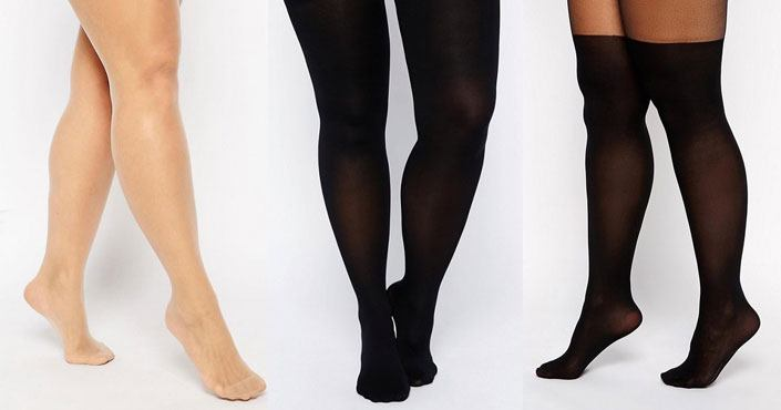 Collants grande taille