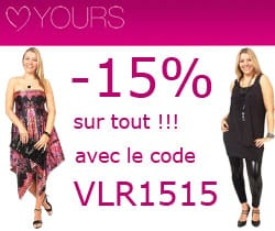 Yours 15%