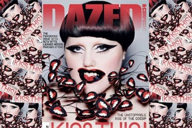 Beth Ditto en couverture de Dazed & confused