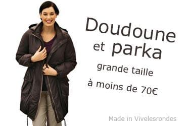 Doudoune et parka grande taille pas cher !