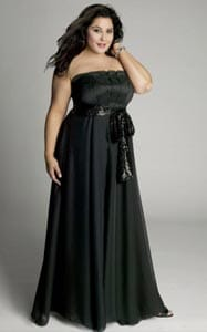 Robe noire habillee taille 48