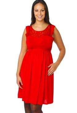 100% authentique 97fbb 156cd 22 robes de soirées grande taille : Rouge flamboyant pour ...