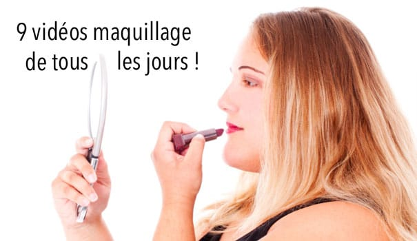 maquillage femme forte