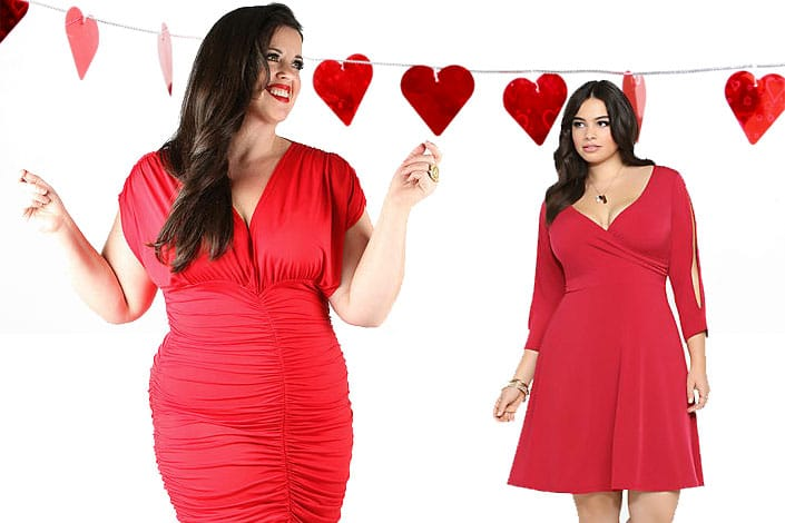 10 robes grande taille pour la saint valentin vivelesrondes vivelesrondes. Black Bedroom Furniture Sets. Home Design Ideas