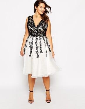Asos robe soiree grande taille