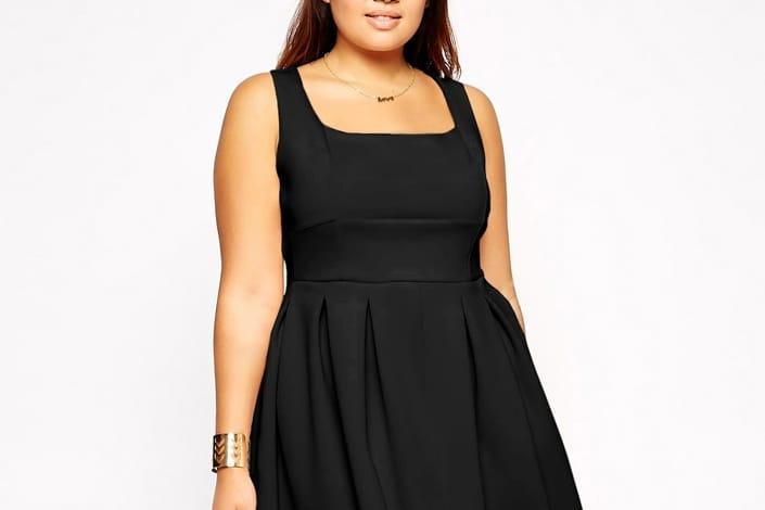 0296b08debf812 6 petites robes noires en grandes tailles pour toutes les occasions