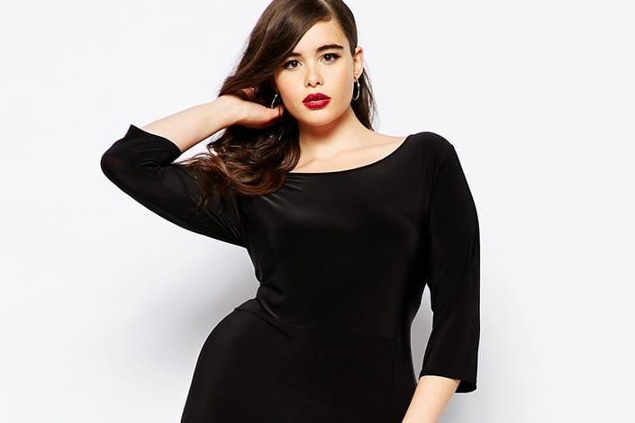 Super 10 petites robes noires grandes tailles pour les fêtes comme pour  OS36