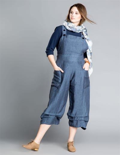 vente limitée grande vente outlet Salopettes et Combinaisons en jeans grande taille