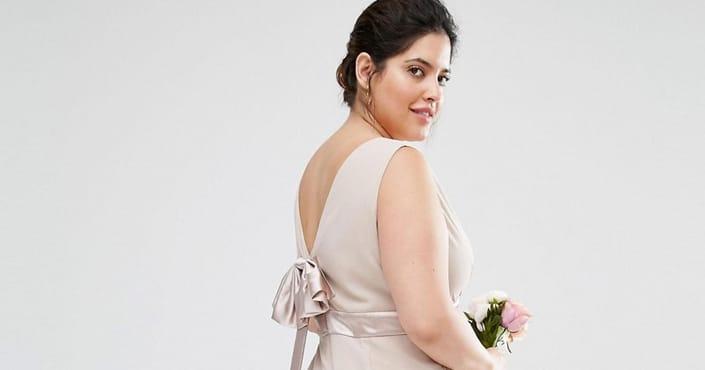 Asos robe mariage grande taille