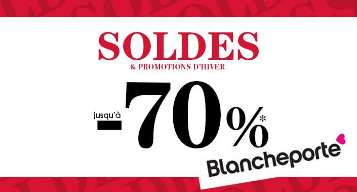 Blanche Porte : Soldes mode grande taille hiver 2017 jusqu'à  70%