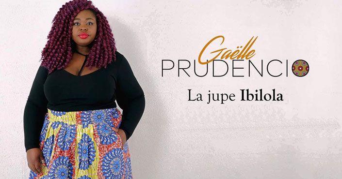 Gaelle Prudencio - Jupe Ibolola en wax