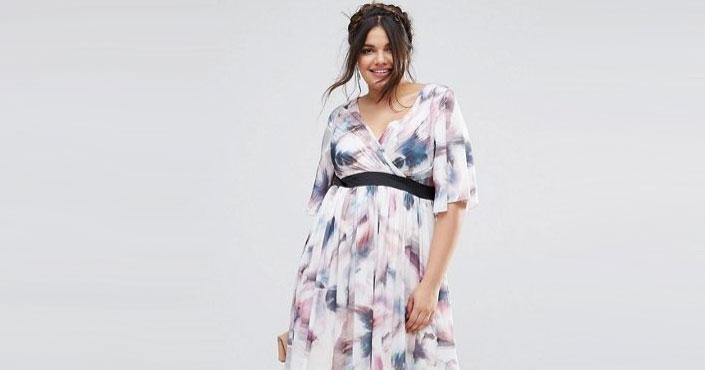 robes de c r monie grande taille l 39 esprit romantique chez asos vivelesrondes. Black Bedroom Furniture Sets. Home Design Ideas