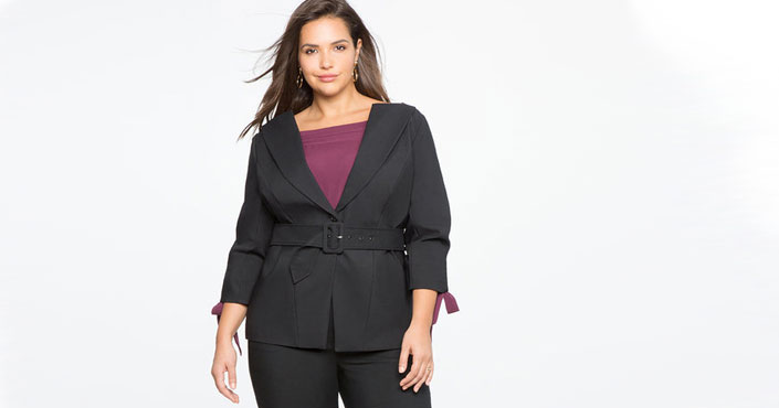 tailleur grande taille