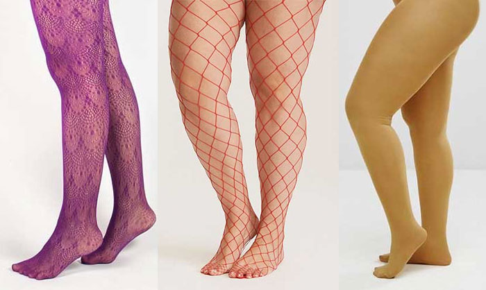 collants grande taille colorés