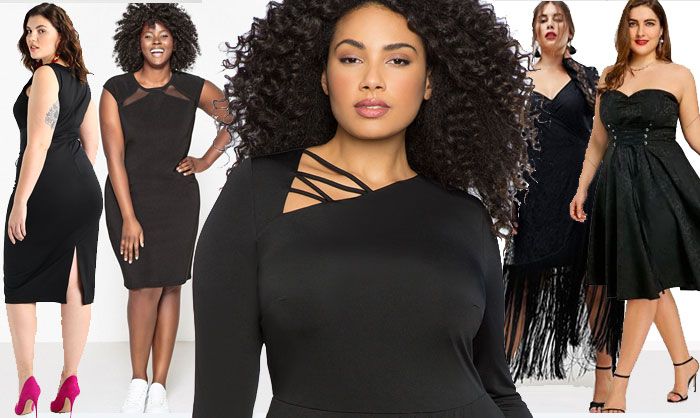 robes noires grande taille