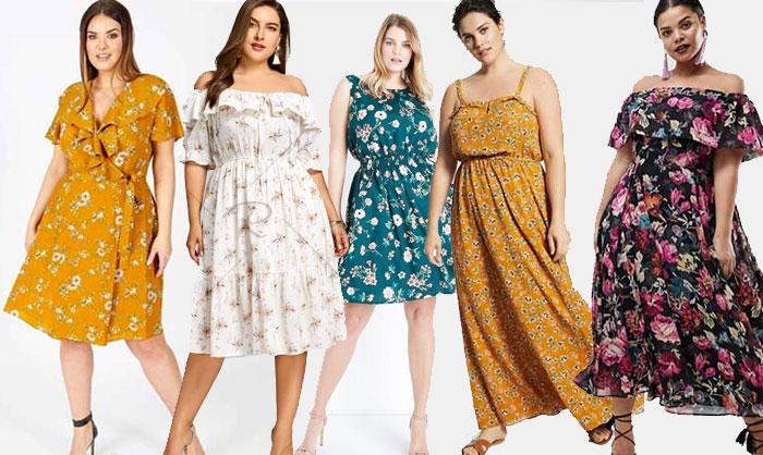 10 Robes Grande Taille Floral Pour Celebrer Le Printemps