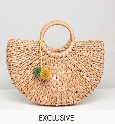 the cheapest best choice buy Où trouver le petit sac en paille ou raphia tendance cette ...