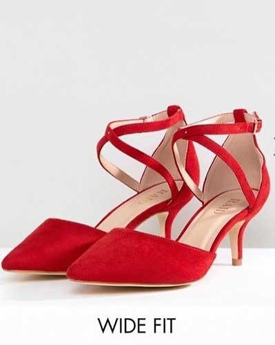 obtenir pas cher prix limité vente en ligne Escarpins pour pieds larges