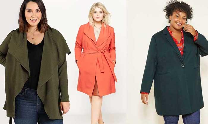 manteaux grande taille pas cher